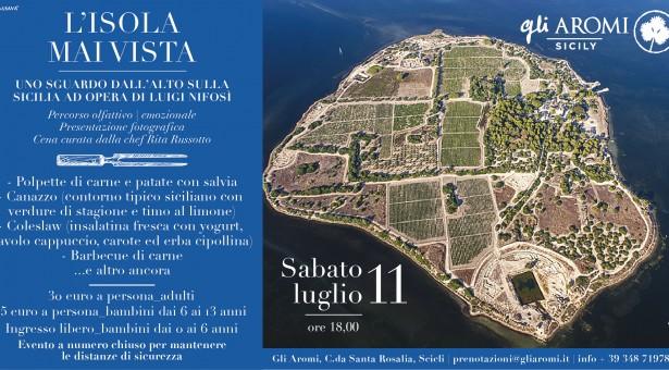 """A """"Gli Aromi"""" in volo sulla Sicilia. Reportage di Luigi Nifosì."""