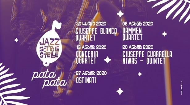 """""""Jazz sotto le stelle"""" al PataPata: si inizia giovedì con il Giuseppe Blanco Quartet"""