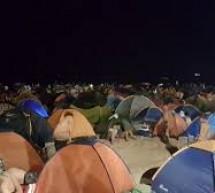 """Vietato entrare in spiaggia dalle ore 21,00 alle 6,00. Vietato bivaccare per la """"Notte de San Lorenzo""""."""