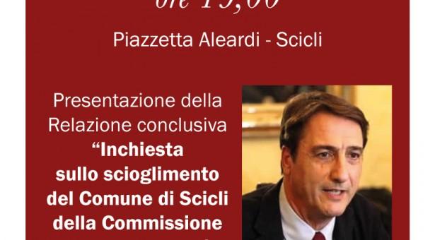 Questa sera conversazione con Claudio Fava a Scicli sulla Relazione antimafia. Alle ore 19 Piazzetta Aleardi.