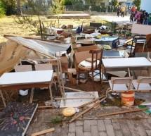 Scuola Don Milani: i vandali, la differenziata, la multa ed altre cose…