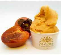 Il gelato al cachì. Solo da Nivera a Scicli.