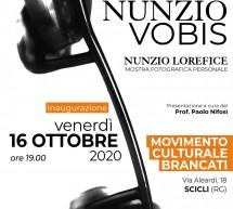 """""""Nunzio Vobis"""":  al """"Brancati"""" apre la Mostra Personale di fotografia di Nunzio Lorefice. Venerdì 16 ottobre."""
