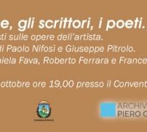 """""""Guccione, gli scrittori, i poeti"""", serata di memoria al Convento del Carmine. Letture di grandi autori."""