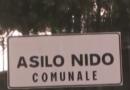 Asilo nido comunale di via Nenni, c'è l'avviso.