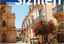 """Scicli in copertina sulla guida tedesca """"Sizilien""""."""