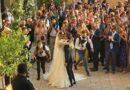 Festa attorno a Miriam e Paolo, sposi a Scicli.